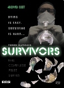 Cover of the series one Survivors DVD set