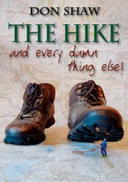 The front cover of The Hike... and every damn thing else