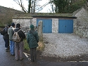 Reviewing the location of the 'bullet barn' in the Monsal valley