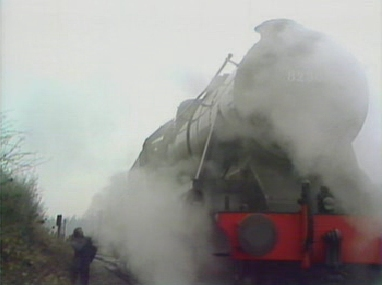 Charles chances upon a steam train, and a final chance of escape